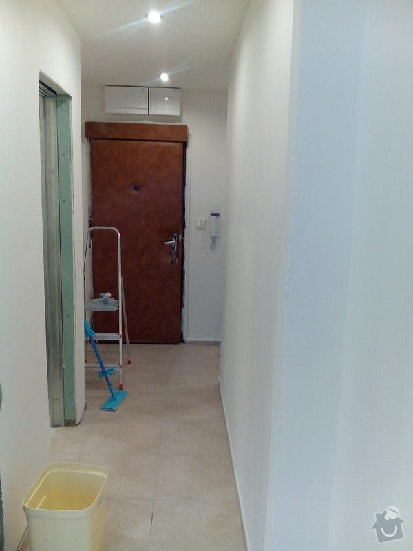 Rekonstrukce panelového bytu Praha 9 - po 5