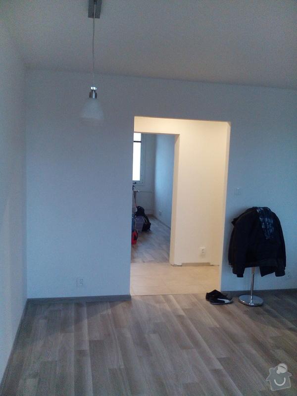 Rekonstrukce panelového bytu Praha 9 - po