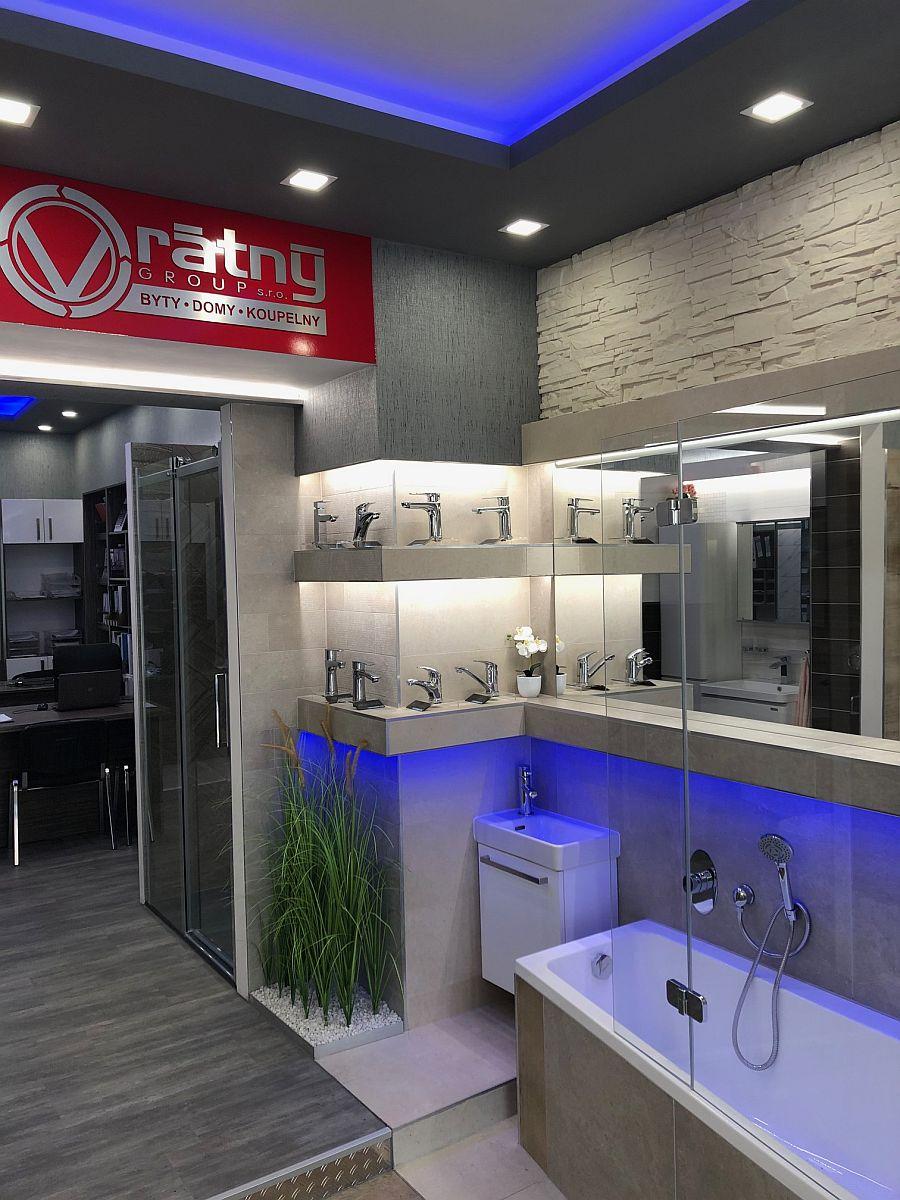 Vzorkovna - rekonstrukce koupelny SIKO Praha 7