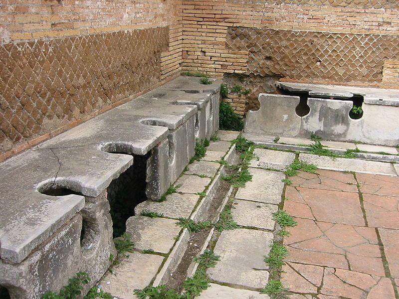 Zajímavosti / WC ve starořímské době