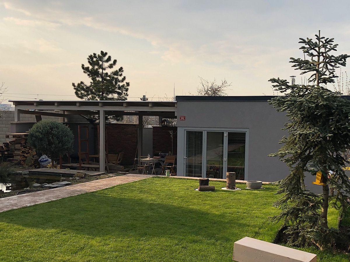 Zahradní bungalov Praha 10 - dokončeno